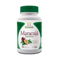 Maracujá Passiflora 60 caps 500mg