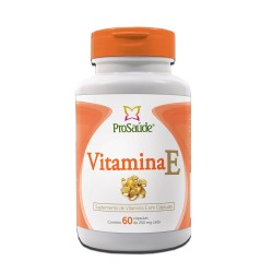 Vitamina E 60 caps 250mg